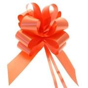 "Sateen Pull Bows Orange 2"" (PB5887)"