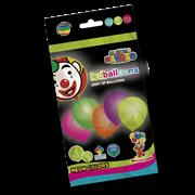 Neon Led Balloons Asstd Colours 5s (PB/LED)