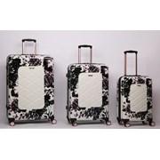 "Black Rose Trolley Case 25"""