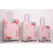 "Rose Blush Trolley Case 25"""