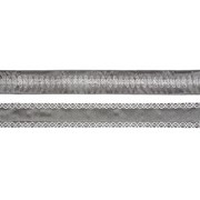 Pewter-silver Piping Ribbon 2.7mt (R176172)