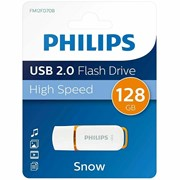Philips 128gb Usb 2.0 Snow Memory Stick (FM12FD70B/00)