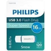 Philips 16gb Usb 3.0 Blue Snow Memory Stick (FM016FD75B/10)