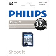 Philips 32gb Sd Memory Card Class 4 (FM32SD35B)