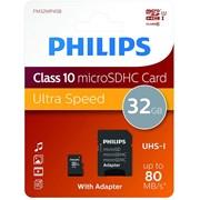 Philips 32gb Sdhc Card Class10 Uhs-i U3 (PHISD32GBC10U3)