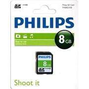 Philips 8gb Sd Memory Card Class 4 (PHISD8GBC4)