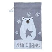 Felt Polar Bear Santa Sack 1mt (PL211249)