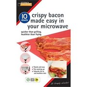 Planit Crispy Bacon Made Easy In Your Mircowave 10pk (BS10PM)