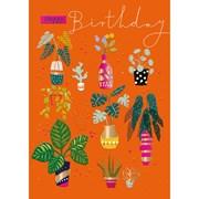 Plant Party B/day Card (IJ0078W)