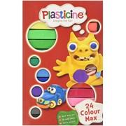 Plasticine 24 Colour Max (F9L10256)
