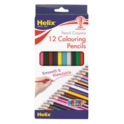 Helix Full Length Colouring Pencils 12s (83332)