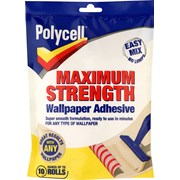 Polycell Wallpaper Adhesive 10 Roll (5133339)