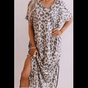 Animal Print Dress (PON9354)