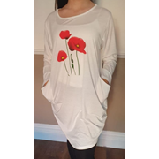 Cream Jumper Dress (PON9370)