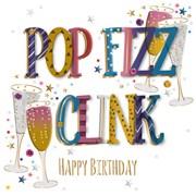Pop Fizz B/day Card (MWER0151)