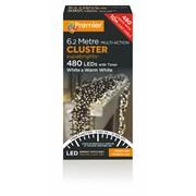 Premier 480 M-a Cluster Sprbrghts W/timer Wht/warm White (LV162174WWW)