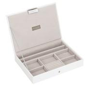Premium Lidded Stacker White (70957)