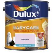 dulux Easycare W&t Matt Pretty Pink 2.5l (5293145)