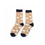 Miss Sparrow Elephant Socks Dusky Pink (SKS217DUSKYPINK)
