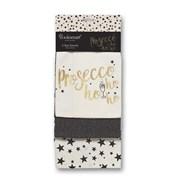 Cooksmart Prosecco Ho Ho Ho Tea Towels 3pk (9836)