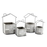 House Planters Set Of 2 (PS0117)