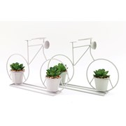 Sifcon Bike With 2 Artificial Plants 30cm (PS0126)