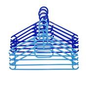 Russel Plastic Hangers Set Of 8 Blue (PT1608)