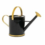 Watering Can Black With Gold Accent 3.5l (PT193614BK)