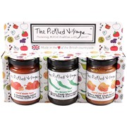 Pickled Village The Hot Ones Gift Pack 3x4oz (PV510)