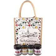 Pickled Village Jute Hamper Bag Medium (PV514)