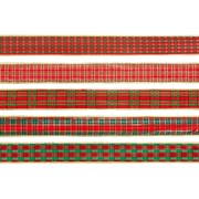 Tartan Ribbon Asst 2.7m (R095654)