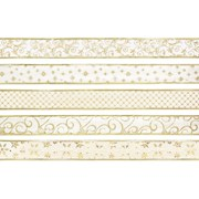 Ivory Gold Ribbon Collection Asst 2.7m (R115718)