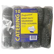Ramon Heavy Duty Galvanised Scourers 10s (828/80)