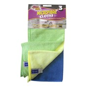 Squeaky Clean Ramon  Microfibre Cloths 3pk (776.3SQ2)
