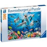 Ravensburger Dolphins Puzzle 500pc (14710)