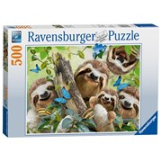 Ravensburger Sloth Selfie Puzzle 500pc (14790)