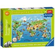 Ravensburger Endangered Animals Giant Floor Jigsaw Puzzle 60pc (05515)