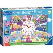 Ravensburger Peppa Pig Clock Puzzle 60pc (9510)