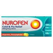 Nurofen Cold & Flu Relief Tablets 8's (RB454507)