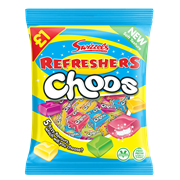 Swizzels Matlow Refreshers Choos £1 Pmp 135g (78104)