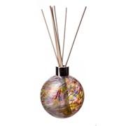 Amelia Art Glass Reed Diffuser Sphere In White & Mc (REM01WMC)
