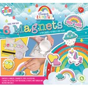Act Paint & Mould Rainbow Magnets (REMG)