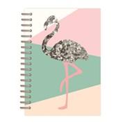 Sequins Wiro Journal Pineapple / Flamingo Asstd A5 (RFS12112/25)