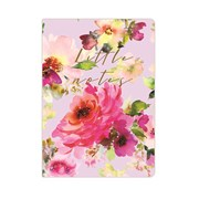 Soft Cover Notebook Lilac Bloom A6 (RFS12752)