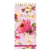 Tall Wiro List Pad Lilac Bloom (RFS12757)