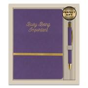 Notebook & Pen Set Luna Bee (RFS13037)