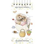 World Of Potter Tall Wiro List Pad Tiggy Winkle (RFS13778)