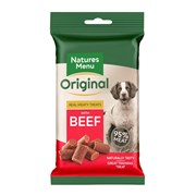 Natures Menu Real Meat Beef Mini Treats For Dogs 60g (NMBFT)