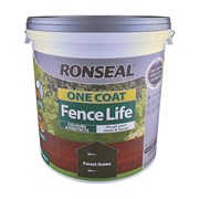 Ronseal One Coat Fence Life Forest Green 9lt (38297)