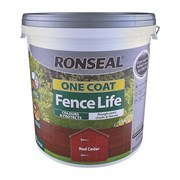 Ronseal One Coat Fence Life Red Cedar 9lt (38296)